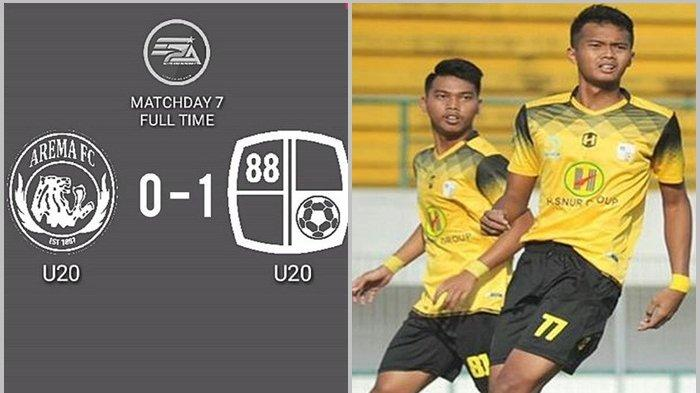 Barito Putera U-20 Tundukan Singo Edan di Gajayana Malang, Skor Akhir 1-0