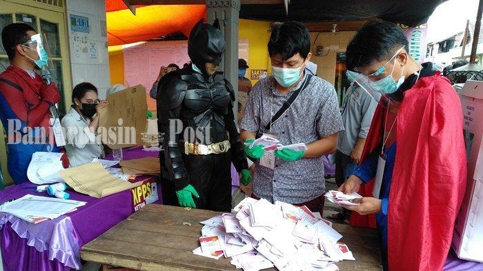 PSU Pilgub Kalsel 2020 di Kecamatan Banjarmasin Selatan, Ini Respons Warga