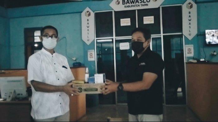 PSU Pilgub Kalsel, Bawaslu Tapin Terima Alat Pelindung Diri