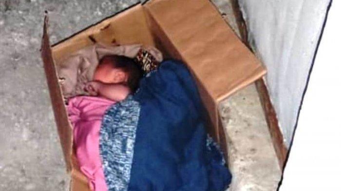Dimasukan Kardus, Bayi di Sleman Yogyakarta Ini Ditemukan di Depan Kontrakan