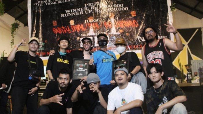 Bboy Kalsel Kuasai Kejurnas Breakdance di Palangkaraya, Bertanding tanpa Dukungan Pemerintah