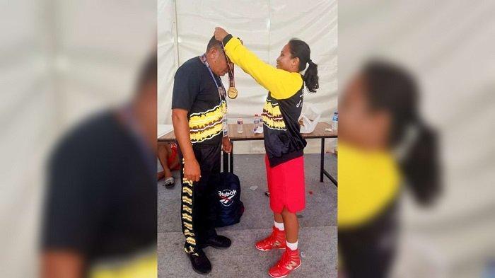 PON XX Papua 2021 - Taklukan Wakil Papua, Petinju Kalsel Beatrix Raih Emas, Silpa Sumbangkan Perak