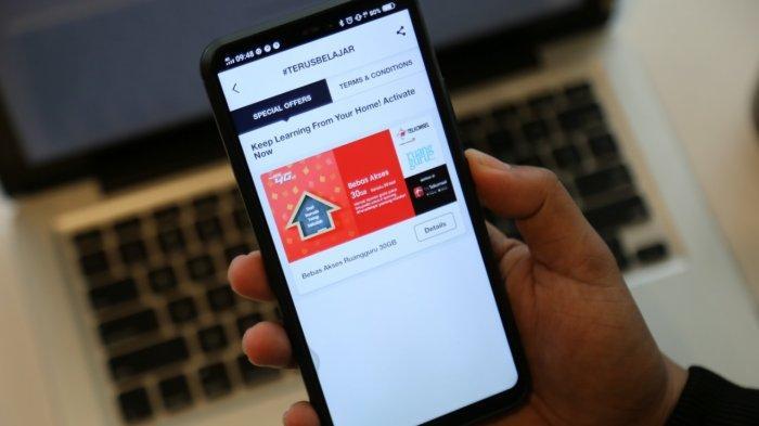 bebas akses materi di ruangguru menggunakan operator telkomsel