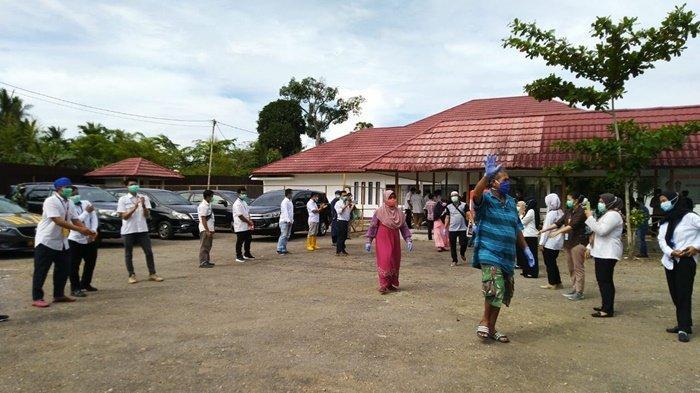 Kontrak Petugas Unit Penanganan Khusus Covid-19 Tabalong Diperpanjang Tiga Bulan