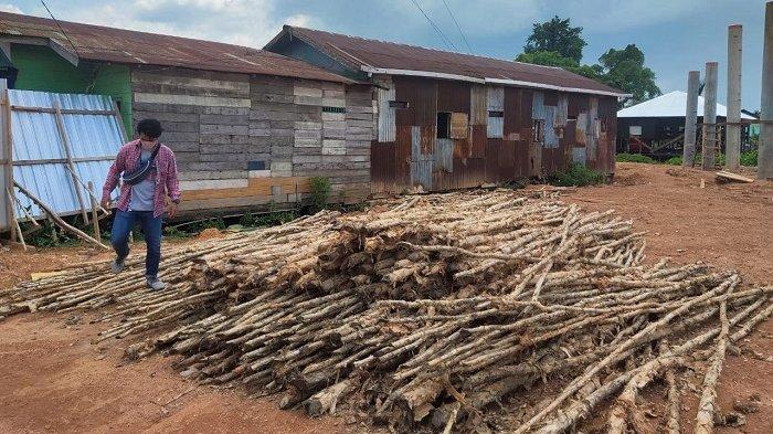 Pembebasan Lahan Pembangunan Jembatan HKSN Banjarmasin Belum Beres, 3 Rumah Ini Belum Dibongkar