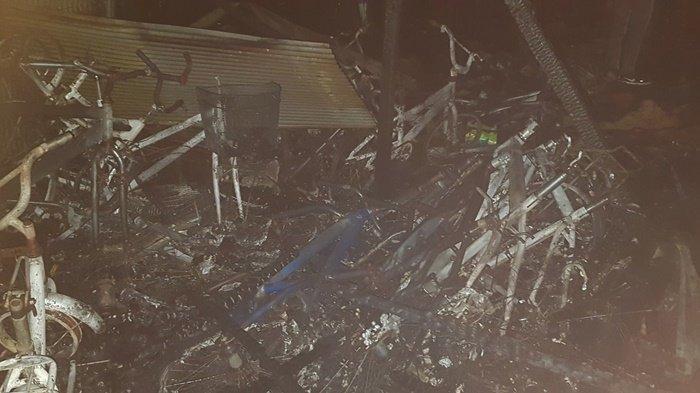 Kebakaran di Kalsel, Enam Kios di Pasar Pelaihari Kabupaten Tala Hangus