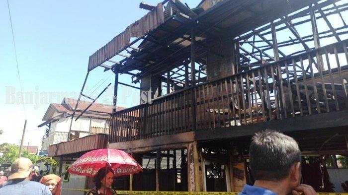 Kebakaran di Banjarmasin, 3 Rumah dan SDN Kebun Bunga 9 Jadi Korban