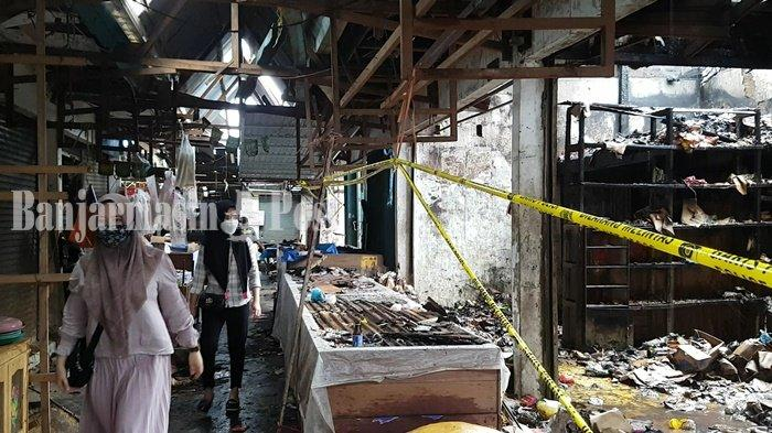 Kebakaran Kalsel, Pedagang di Pasar Martapura Ini Tiga Kali Alami Musibah yang Sama