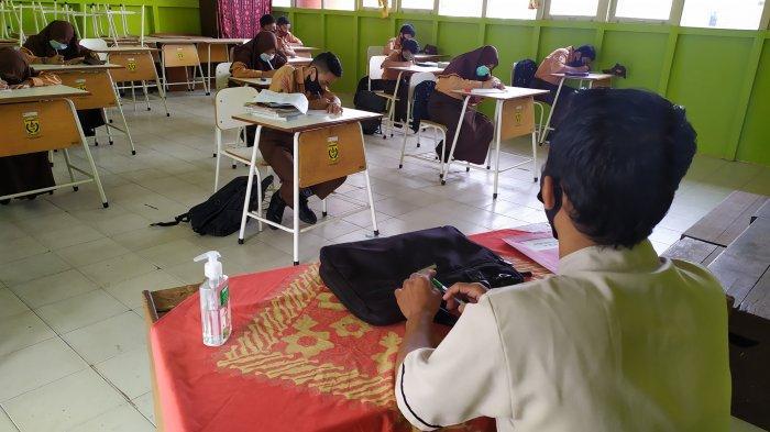 Dijawalkan Awal April 2021, Ujian Sekolah Tingkat SD SMP di Banjarmasin Digelar Secara Tatap Muka