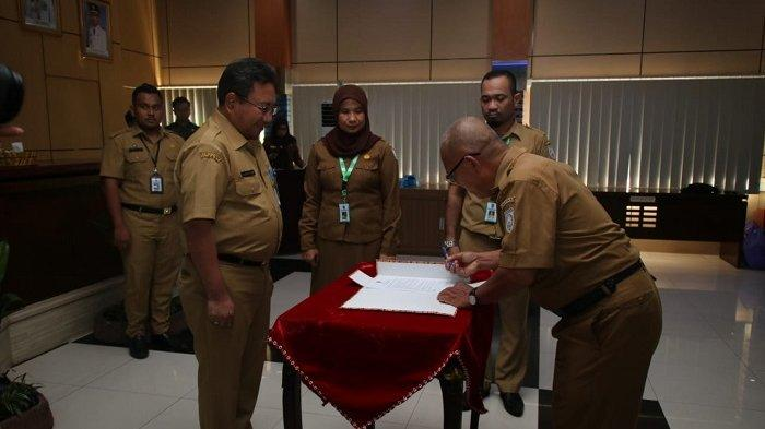 Belasan Pejabat Fungsional Banjar Dilantik, Begini Pesan Sekda