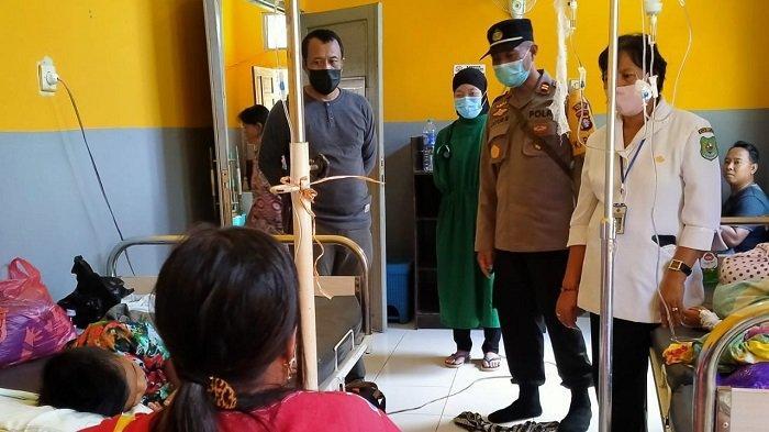 Keracunan Makanan di Lamunti Kapuas Kalteng, Ini Santapan Saat Berbuka Puasa Bersama