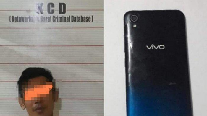 Beli HP Curian, Pemuda Warga Kotawaringin Barat Kalteng Ini Harus Berurusan dengan Polisi
