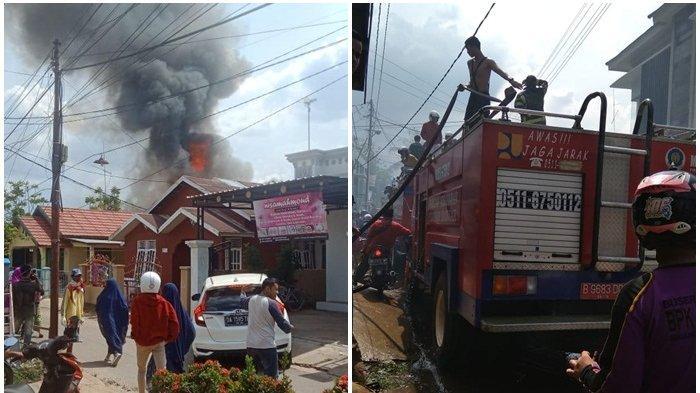 Si Jago Merah Ludeskan 4 Bangunan di Sekumpul, Diduga Asal Api Dari Bedakan