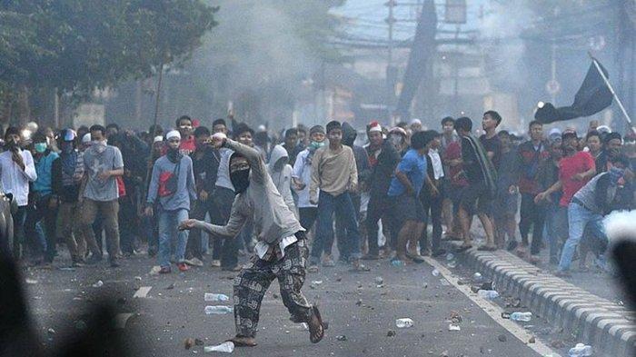 UPDATE Aksi 22 Mei - Polisi Sebut Kericuhan Dipicu Massa Bayaran, Ditemukan Amplop Berisi Uang