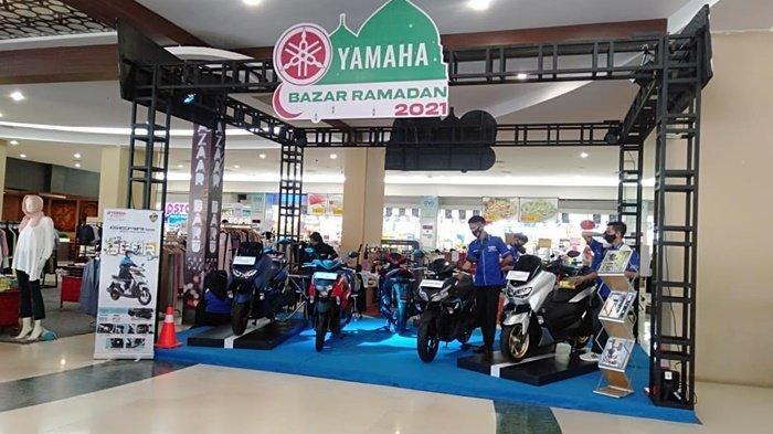 Berbagai varian Yamaha digelar di Q Mall Banjarbaru, Kota Banjarbaru, Kalimantan Selatan, sejak 5-9 Mei 2021 bertempat di Grand Floor.