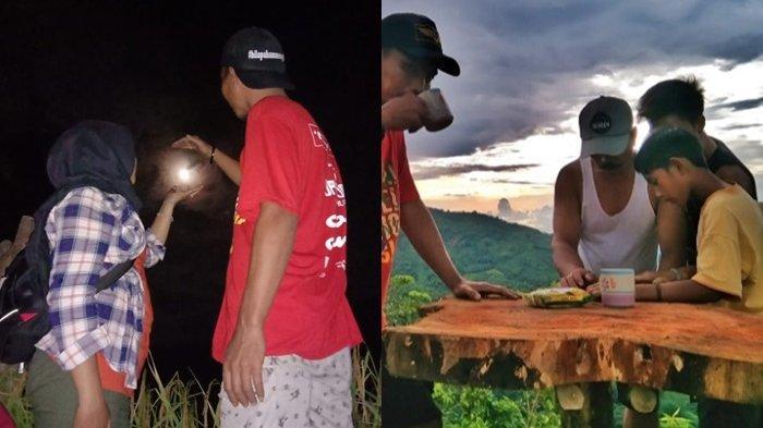 Wisata Kalsel di HST : Asyiknya Kemping di Puncak Titian Musang, Dapat Moment Awan Putih dan Sunrise