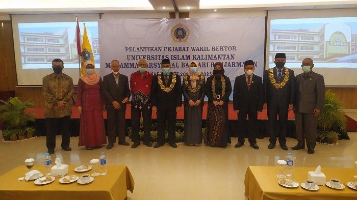 Resmi Dilantik, Begini Kata Wakil Rektor UNISKA Periode 2021-2025