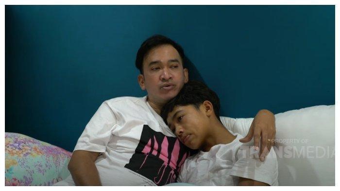 Permintaan Maaf Betrand Peto pada Ruben Onsu Gegara Merasa 'Tetot', Putra Sarwendah Menangis