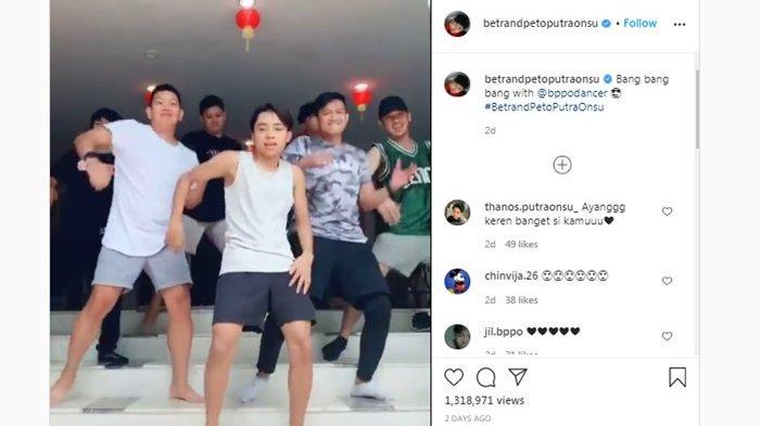 Video Betrand Peto Bergoyang Bareng 6 Lelaki Viral, Putra Ruben Onsu dan Sarwendah Disorot BXB