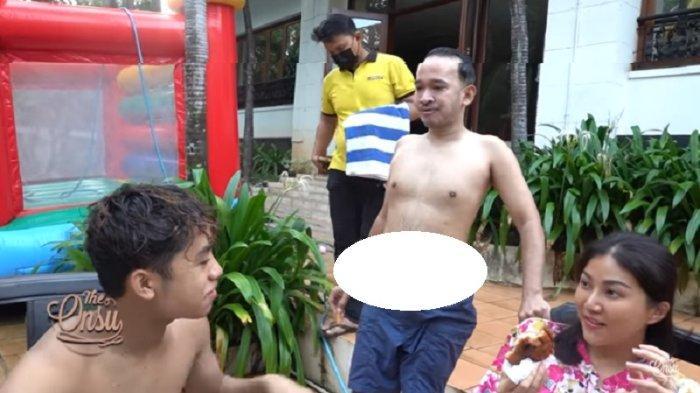 Masa Lalu Betrand Peto Diungkit Kala Bareng Ruben Onsu dan Sarwendah Berenang Waterpark