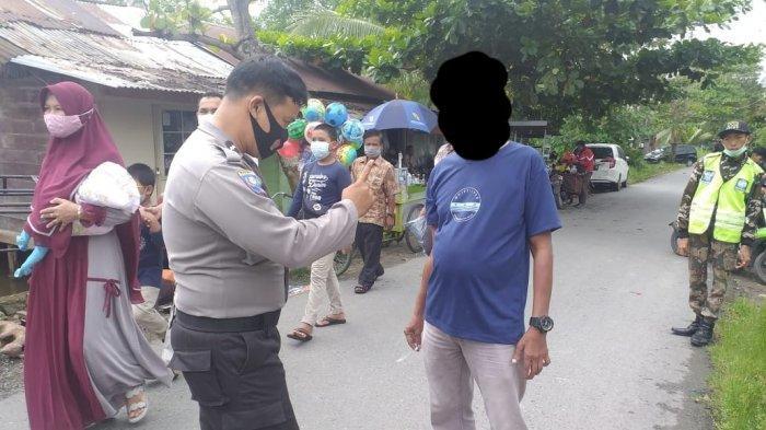 Polisi Tegur Petugas Jaga Malam, Buntut Ada Aktivitas Meresahkan di Banjarmasin Barat