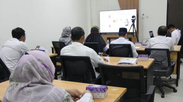 Bahas Mekanisme Birokrasi, Bagian Organisasi Setda Balangan Langsungkan Vidcon Bersama Kementrian