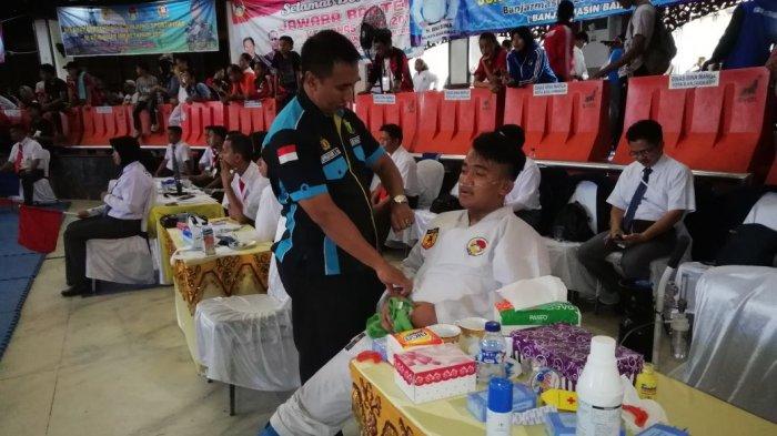 Biddokes Polda Kalsel Dipercaya Dampingi Para Atlet Nasional di Kejurnas Inkai