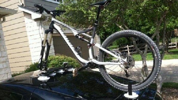 Dengan Alat Ini Sepeda Bisa Dibawa ke Mana-mana