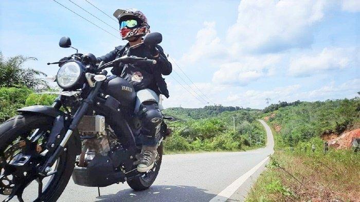 Biker XSR 155 Makin Gemar Taklukkan Alam Menantang Kalimantan