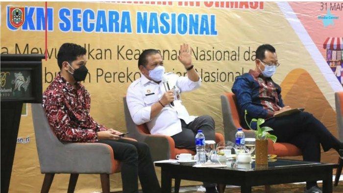 Bimtek untuk para pelaku UMKM di Kalimantan Selatan menghadapi serangan siber.