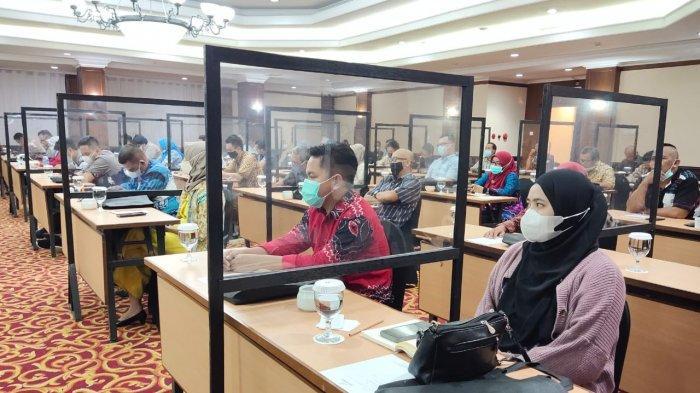 Jelang PSU Pilgub Kalsel 2020, PPK dan PPS se Kecamatan Banjarmasin Selatan Ikuti Bimtek