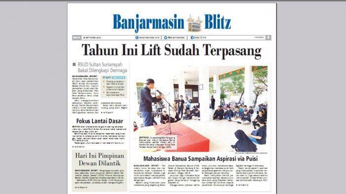 RSUD Sultan Suriansyah Bakal Bangun Dermaga Dilengkapi dengan Ambulans Air
