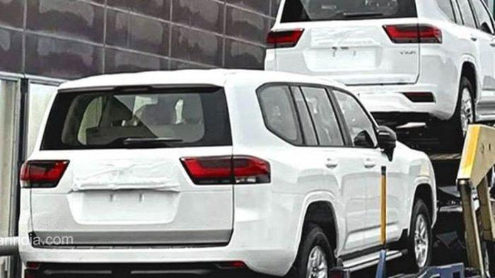 Bocoran foto Toyota Land Cruiser terbaru.