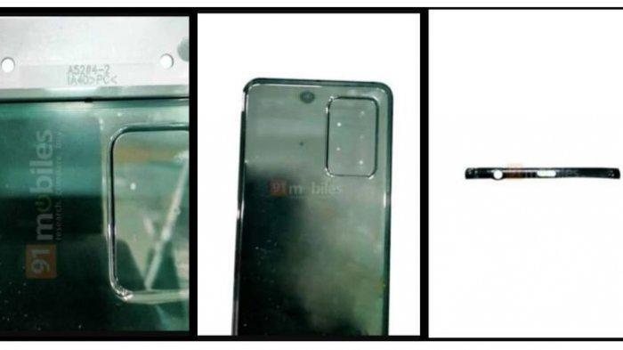 Bocoran gambar yang diduga merupakan Samsung Galaxy A52