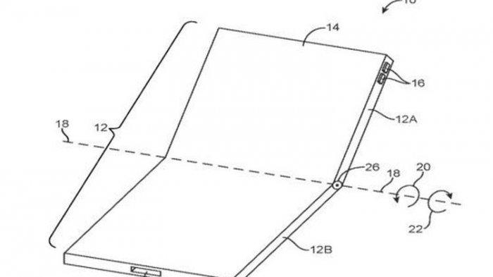 Tak Mau Disalip Merek Lain, Apple Patenkan Konsep iPhone Lipat, Mirip Samsung?