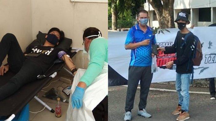 Sumpah Pemuda, Komunitas Motor Bold Riders Banjarmasin Donor Darah dan Bagi Bibit Durian