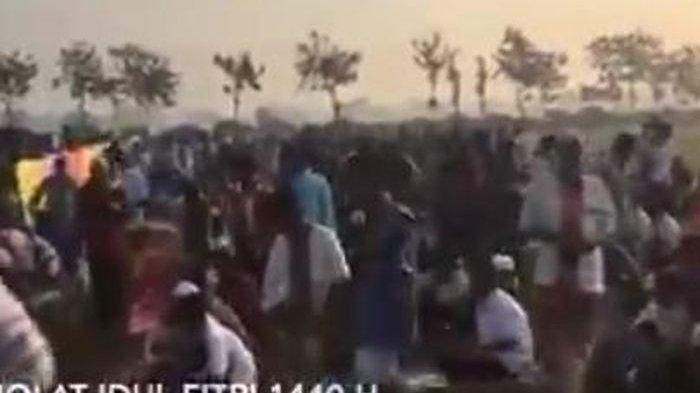 VIDEO VIRAL Jamaah Salat Idul Fitri 1440 H Walkout atau Bubar, Ternyata Isi Ceramah Singgung Hal Ini