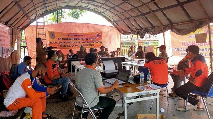 BPBD Kabupaten HSU Masih Terus Salurkan Bantuan untuk Korban Banjir