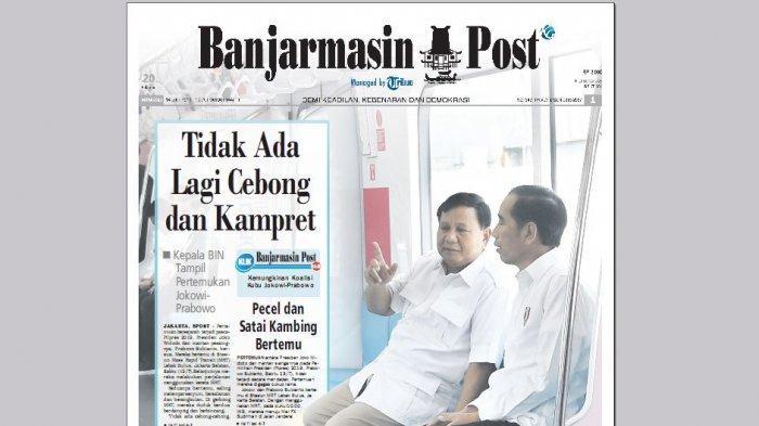 Didampingi Sekjen PDIP, Megawati Soekarnoputri Menyaksikan Siaran Langsung Pertemuan Jokowi-Prabowo