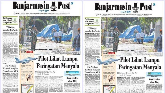Kursi Lontar Jebol Atap, Begini Detik-detik Warga Evakuasi Pilot Tempur TNI AU