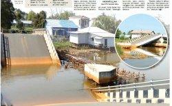 Runtuhnya Jembatan Mandastana, Polda Kalsel Segera Tetapkan Tersangka