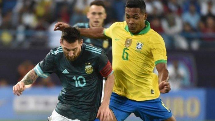Jadwal Final Copa America 2021 & Sejarah Pertemuan Brasil vs Argentina, Neymar Cs Unggul dari Messi