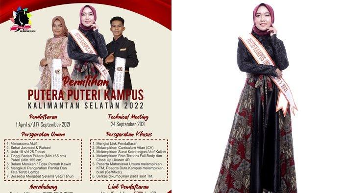 Pemilihan Putera Puteri Kampus Kalsel 2022, Raudatul Ajak Mahasiswa Cintai Kebudayaan