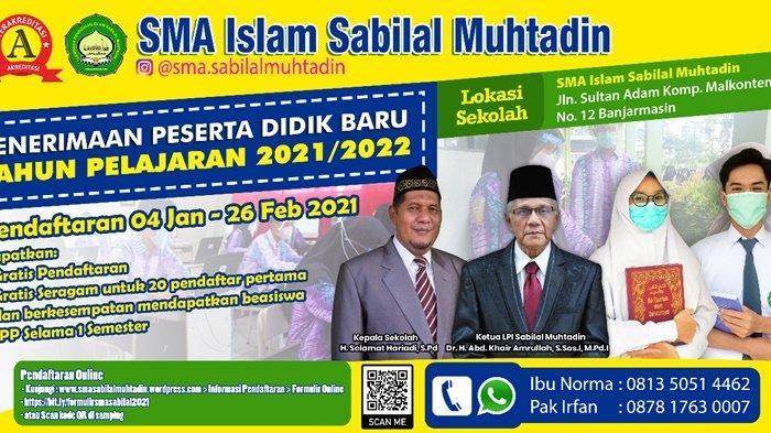 Laksanakan PPDB Online, SMA Islam Sabilal Muhtadin Tes Mengaji Calon Siswa Baru