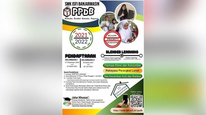 Masih Pandemi Covid-19, Panitia PPDB Online di SMK ISFI Banjarmasin Gencar Sosialisasi di Medsos
