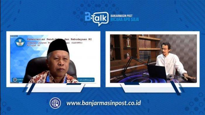 Kepala LLDIKTI Wilayah XI Kalimantan: PJJ Belum Bisa Dievaluasi, Ibarat Tak Ada Rotan Akar pun Jadi