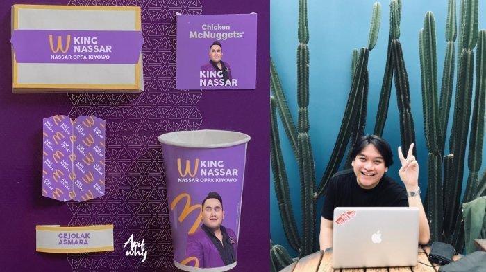 Gambar Wajah Nassar di Kemasan BTS Meal McDonalds Viral, Parodi Dibuat Desainer Grafis Bandung