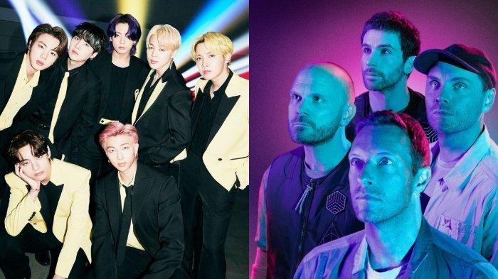 BTS dan Coldplay