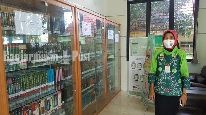 Perpustakaan Khusus Santri dan Penyandang Disabilitas Netra Ada di Kota Martapura