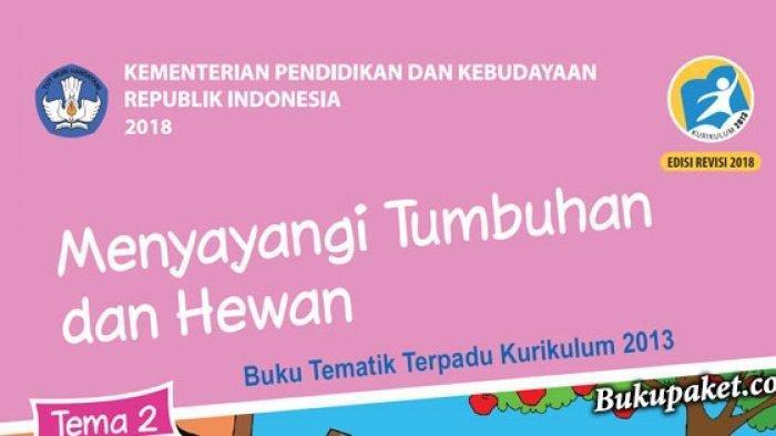 KISI-kisi Soal UTS/PTS dan Kunci Jawaban Kelas 6 SD Buku Tematik PPKn, Bahasa Indonesia, IPA & IPS